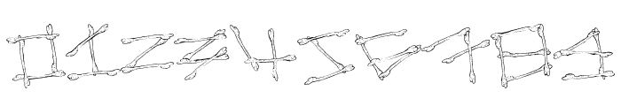 MegaBone Font OTHER CHARS