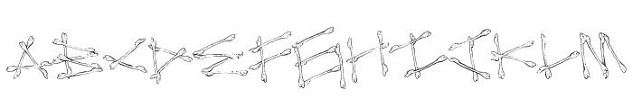 MegaBone Font LOWERCASE