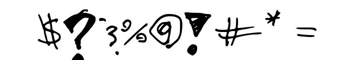 MegaCherry V1 Font OTHER CHARS