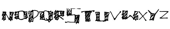 MegaCherry V1 Font UPPERCASE