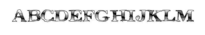 MegaDeal Font LOWERCASE