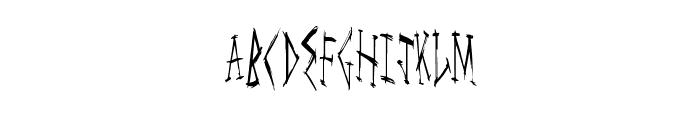 MegaLife Font LOWERCASE