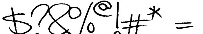 Megaink Font OTHER CHARS