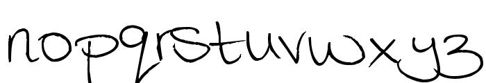Megaink Font LOWERCASE