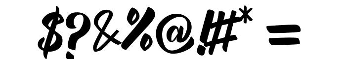 Megalia Font OTHER CHARS