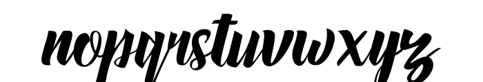 Megalia Font LOWERCASE