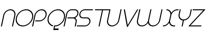 Megalomania Italic Font UPPERCASE