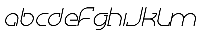 Megalomania Italic Font LOWERCASE