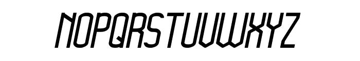 Megapolitan Jakarta Italic Font UPPERCASE