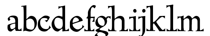 Megaserif One Demo Font LOWERCASE