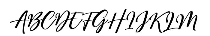 MegattorDEMO Font UPPERCASE