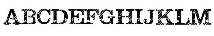 Megeon Grunge Font UPPERCASE