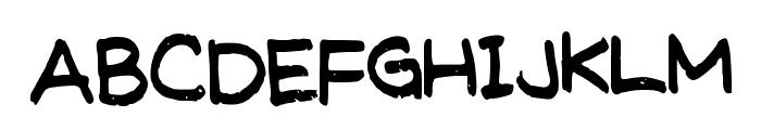 MeghansFont Font UPPERCASE