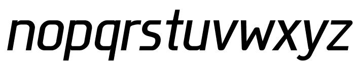 Megi Sans Italic Font LOWERCASE