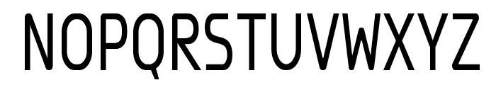 Megi Sans Narrow Font UPPERCASE