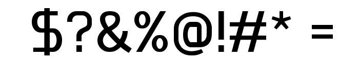 Megi Sans Font OTHER CHARS