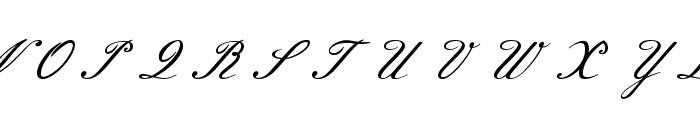Meie Script Font UPPERCASE
