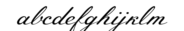 Meie Script Font LOWERCASE