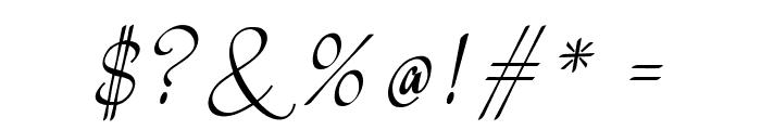 Meikaylascript Font OTHER CHARS