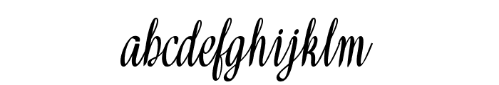 Meikaylascript Font LOWERCASE