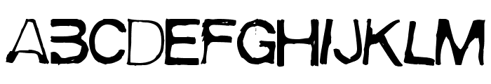 Meiry Font LOWERCASE