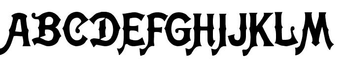 Meistersinger Font UPPERCASE