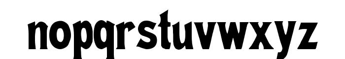 Meistersinger Font LOWERCASE
