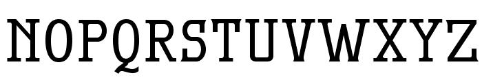 MekanusADFStd-Bold Font UPPERCASE