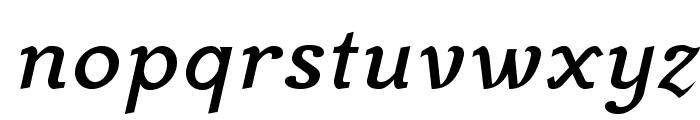 MekanusADFStd-BoldItalic Font LOWERCASE