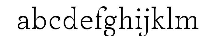MekanusADFStd-Regular Font LOWERCASE