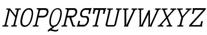 MekanusADFTitlingStd-Italic Font LOWERCASE