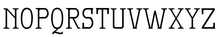MekanusADFTitlingStd-Regular Font UPPERCASE