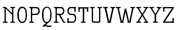 MekanusADFTitlingStd-Regular Font LOWERCASE