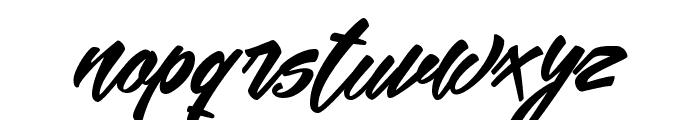 Mekar Script free Font LOWERCASE