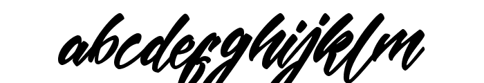 MekarScriptfree Font LOWERCASE