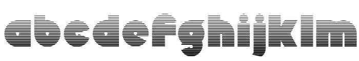 Mekon-Gradient Font LOWERCASE