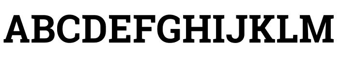 Melancholy Serif Font UPPERCASE