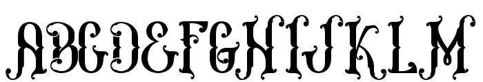 MelanesiaRegular Font UPPERCASE