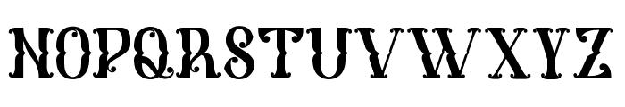MelanesiaRegular Font LOWERCASE