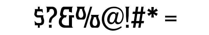 Melange Nouveau Normal Font OTHER CHARS