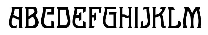 Melange Nouveau Normal Font UPPERCASE