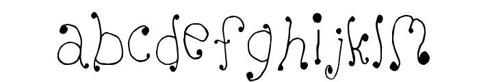 Melanie [Girly] Font UPPERCASE