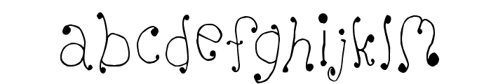 Melanie [Girly] Font LOWERCASE