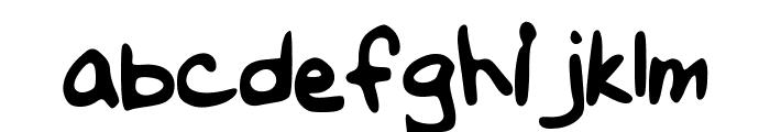 Melapalooza Font LOWERCASE