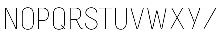 Melbourne-Light Font UPPERCASE