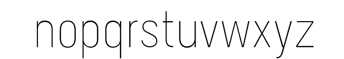 Melbourne-Light Font LOWERCASE