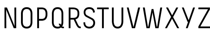 Melbourne Font UPPERCASE