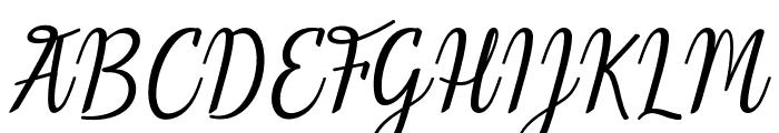 Melinda-artdesign Font UPPERCASE