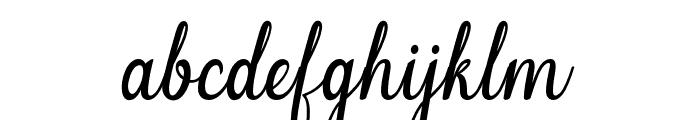 Melinda-artdesign Font LOWERCASE