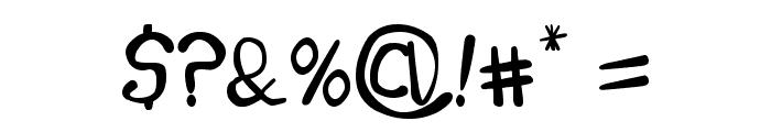 Melinett 1 Font OTHER CHARS